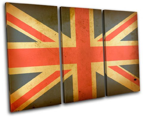 Union Jack Abstract Maps Flags - 13-1836(00B)-TR32-LO